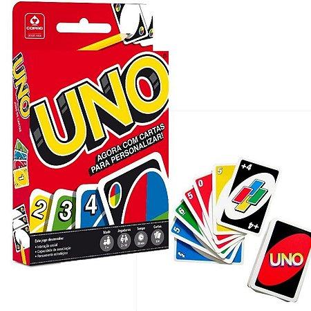 Jogo Uno - 114 Cartas - Jogo de Cartas -  Original - Copag