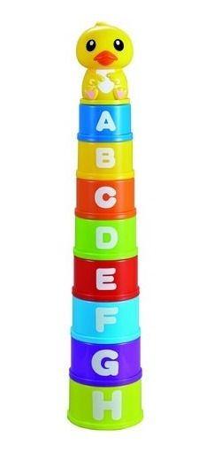 Brinquedo Educativo Didático - Empilha Patinha - Zoop Toys