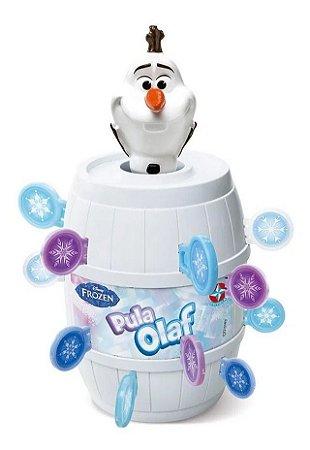 Jogo Pula Olaf - Disney Frozen - Estrela