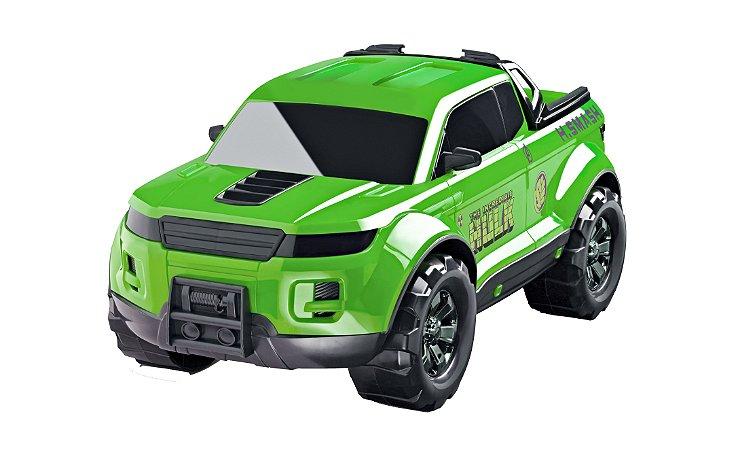 Carro Pick-up Hulk Avengers Gigante - 36cm - Original - Roma