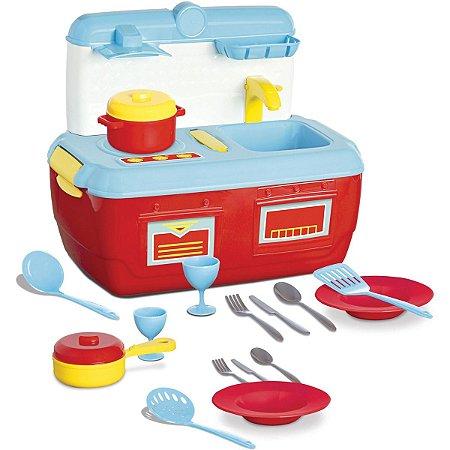 Cozinha Maleta Infantil Completa - Fashion Kitchen - Roma