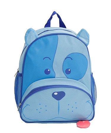 Mochila Infantil Pets - Cachorro Azul - Original - Clio