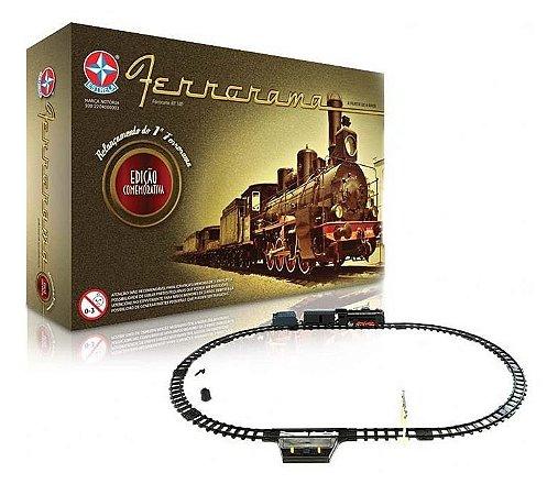 Trem Trenzinho Ferrorama XP 100 - Estrela