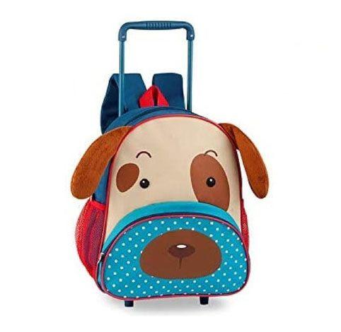 Mochila De Rodinhas Infantil Pets - Cachorro -Original -Clio