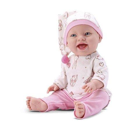 Boneca Baby Babilina Soninho - 34cm - Em Vinil - Bambola