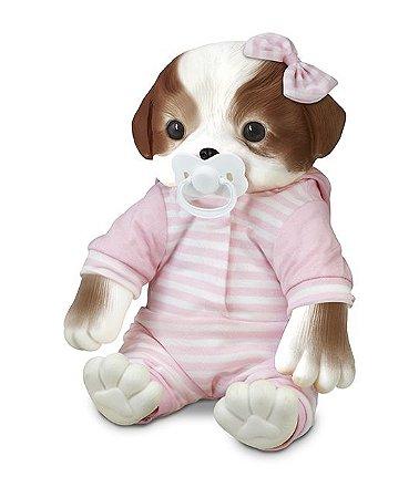 Bebê Pet Filhotinho- Cachorro Shitzu - Hora de Dormir - Roma