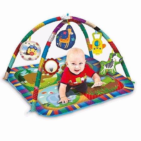 Tapete Centro De Atividades Para Bebês C/ Acessórios - Zoop