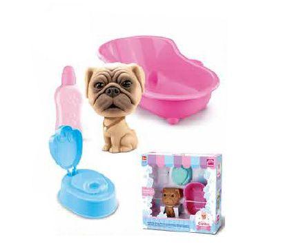 Cachorro Bebê Canino c/ Acessórios - Hora do Banho - Roma