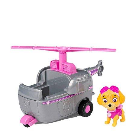 Veículo + Figura Skye Helicopter - Patrulha Canina - Sunny