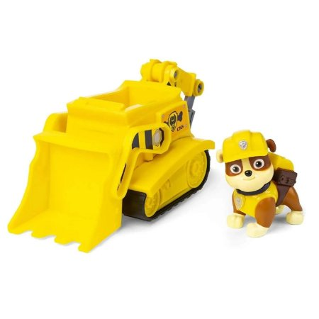 Veículo + Figura Rubble Buldozer - Patrulha Canina - Sunny