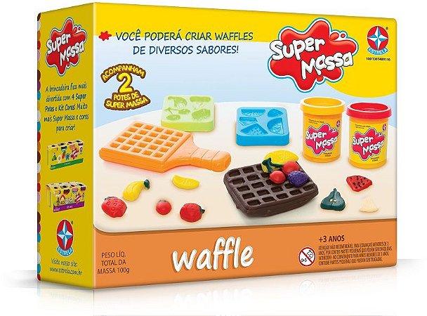 Super Massa Waffle - Estrela