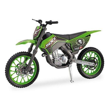 Moto Super Cross SXT Trilha - Miniatura - 28cm - Usual