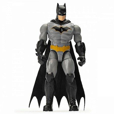 Boneco Batman - Figura de Ação - C/ Acessórios - 10cm -Sunny