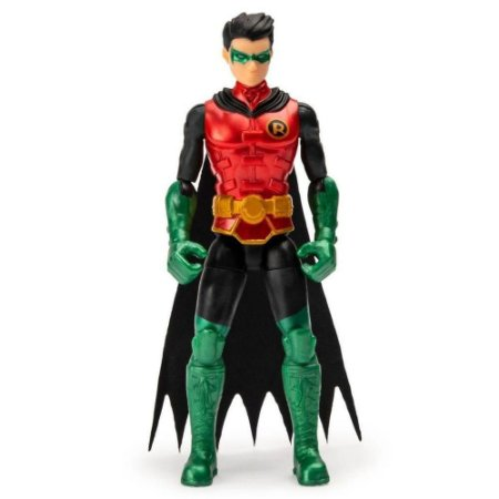 Boneco Robin - Figura de Ação - C/ Acessórios - 10cm -Sunny
