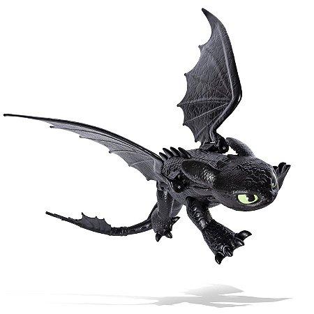 Figura Banguela Toothless - Como Treinar Seu Dragão 3- Sunny