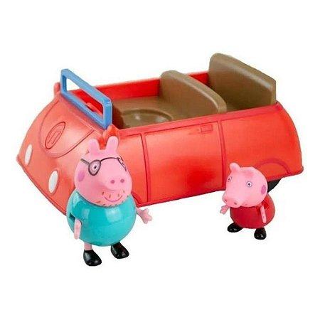 Peppa Pig - Carro da Família Pig C/ Som + 2 Figuras - Sunny