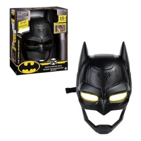 Máscara Eletônica Batman - Troca Voz - C/ Luz E Som - Sunny