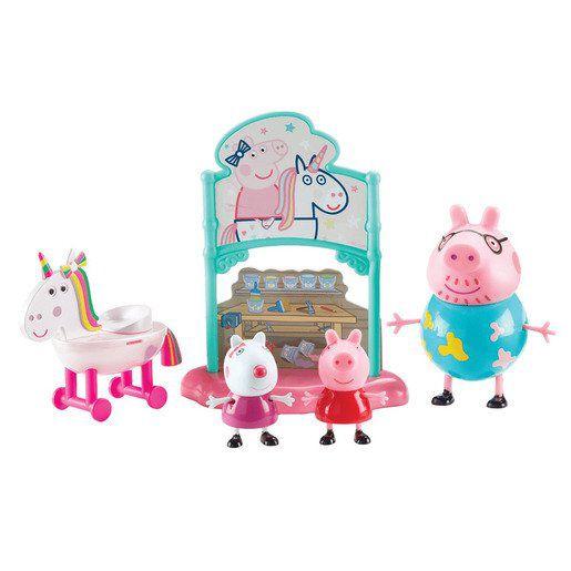 Peppa Pig - Playset Unicórnio Mágico - C/ 3 Figuras - Sunny