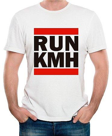 Camiseta Run Kmh (branca)