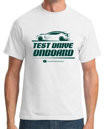 Camiseta Oficial | Test Drive Onboard