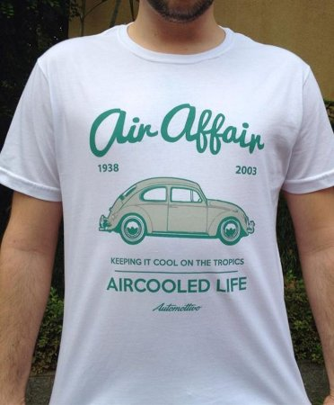 Camiseta Fusca Air Affair (branca)