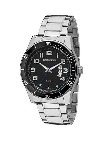 Relógio Technos  Masculino  Analógico 2115KSL/1P - CROMADO