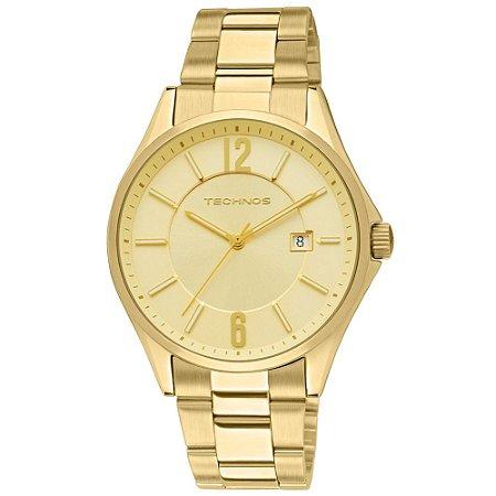 Relógio Technos Dourado Analógico 2115TF/4X  - Dourado