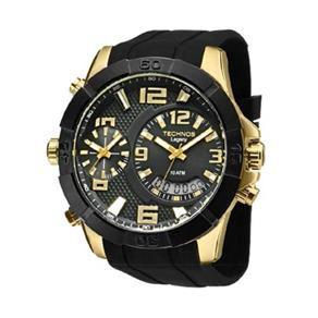 Relógio Technos Masculino Ana Digi Dual Time T205fj/8p