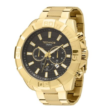Relógio Masculino Analógico Technos Clássico JS25AW4P - Dourado