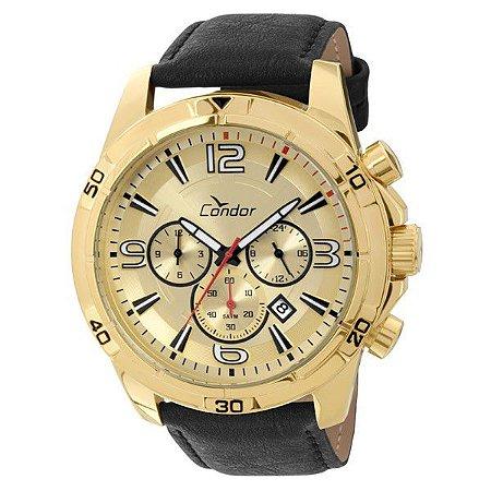 Relógio Condor Masculino Dual Time COVD33AF/2X