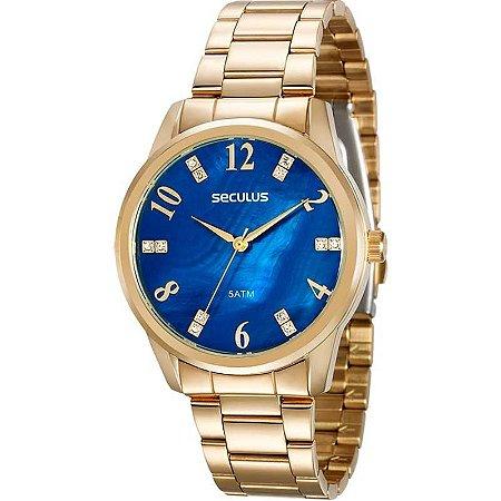 Relógio Seculus Feminino 20507LPSVDS1