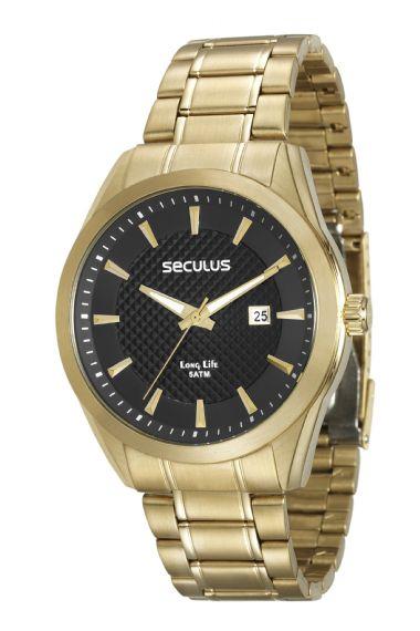 Relógio Masculino Seculus 28836GPSVDA2