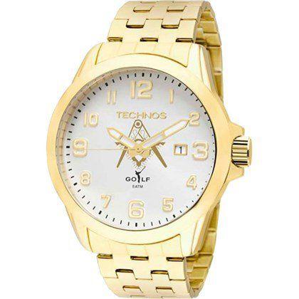 Relógio Technos Masculino Maçonaria 2115kny/M4k