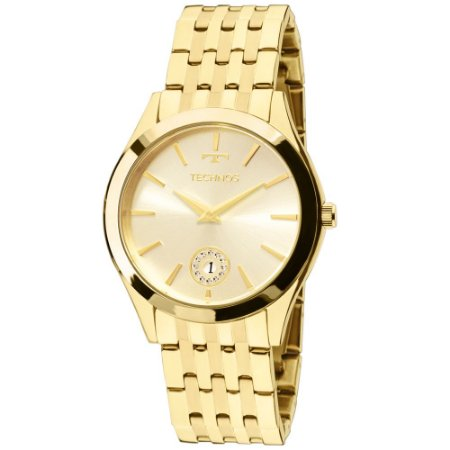 Relógio Technos feminino 1M15AQ4X-Dourado