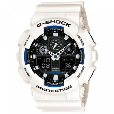 Relógio Casio G- Shock Anadigi Masculino GA-100B-7A