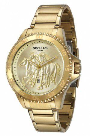 Relógio Seculus Masculino Analógico 20182GPSVDA2