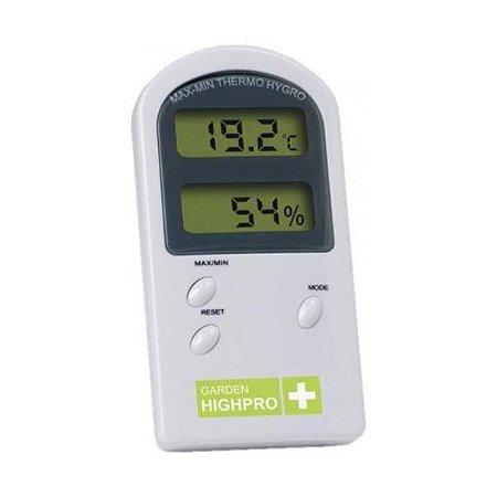 Termo Higrômetro Basic Garden Highpro