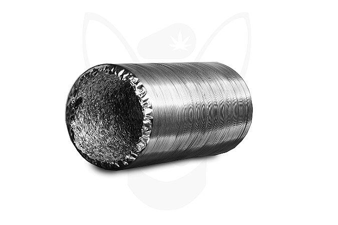 Duto de Ar Aluminizado 100mm - 1 metro