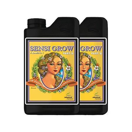 Kit Fertilizantes Advanced Sensi Grow & Bloom (A e B) 1L