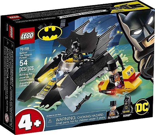 Lego Batman - Perseguição de Pinguim no Batbarco - 54 peças - LEGO
