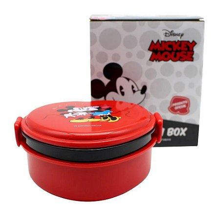 Marmita Lunch Box - 600ml - Coração Mickey - Zona Criativa