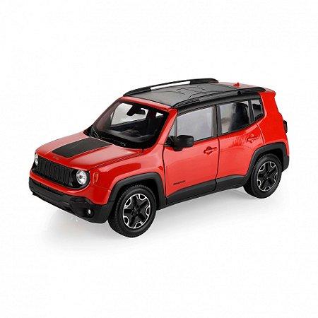 Carro Miniatura - Jeep Renegade Trailhawk - 1/24 - Welly - California Toys