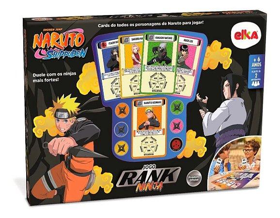 Jogo Rank Ninja - Naruto - Elka