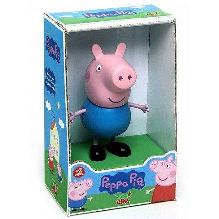 Boneco George - Peppa Pig - 15cm - Elka