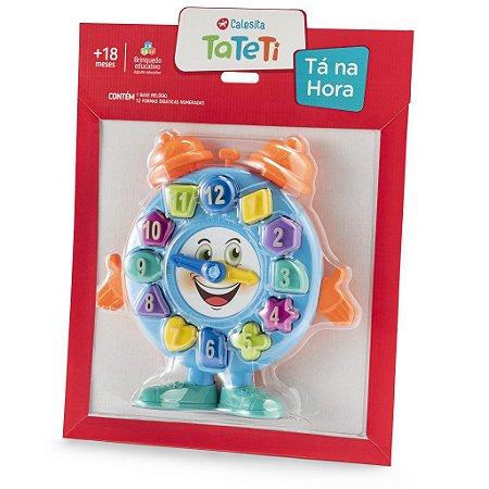 Brinquedo Relógio - Tá Na Hora - Calesita - Tateti