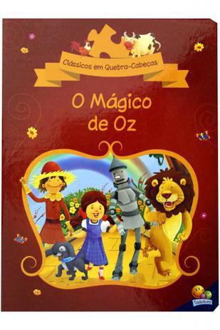 Clássicos em Quebra-cabeça - O Mágico de Oz - Todolivro