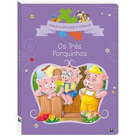 Clássicos em Quebra-cabeça - Os Três Porquinhos - Todolivro