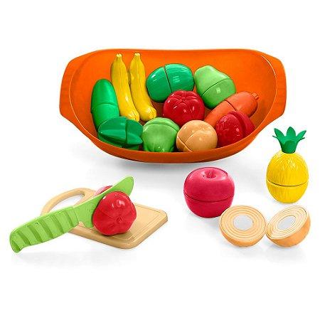 Nutri Cozinha - Legumes e Frutas - Calesita Tateti