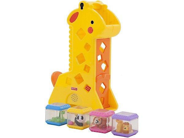 Girafa com Blocos - com Som - Fisher Price