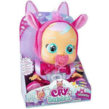 Boneca CRY Babies - Hannah - Fantasia - Multikids